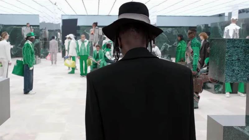 Louis Vuitton FW21 Fashion Show Saul Williams Mos Def