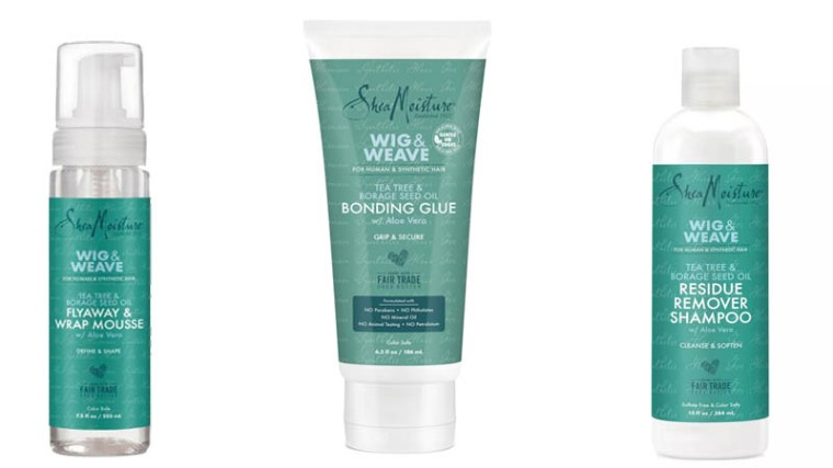 New SheaMoisture Wig and Weave Haircare Line